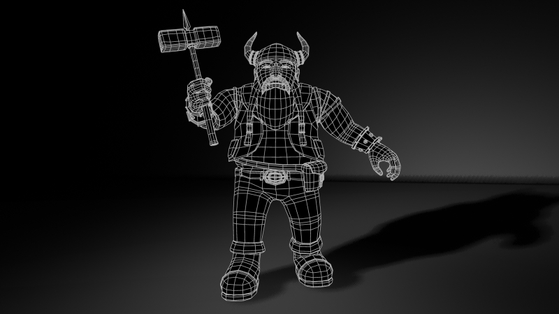 Dwarf_Final_Render_wire